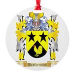 Heatherman Round Ornament