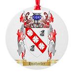 Heatherley Round Ornament