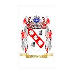 Heatherley Sticker (Rectangle 10 pk)