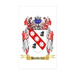 Heatherley Sticker (Rectangle 50 pk)