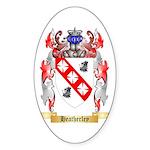 Heatherley Sticker (Oval 50 pk)