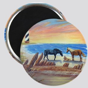 New Day Cape Hatteras Magnets