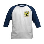 Heather Kids Baseball Jersey