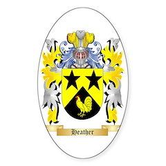 Heather Sticker (Oval)