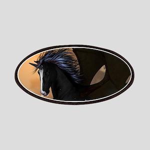 Bautiful dark unicorn Patches
