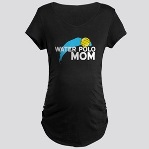 Water Polo Mom Maternity T-Shirt