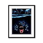 Portland Roy Dog Framed Panel Print