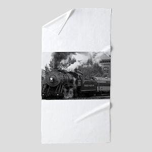 Steam Train Beach Towel
