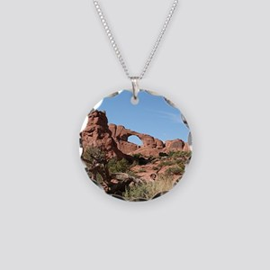 Arches National Park, Utah, Necklace Circle Charm