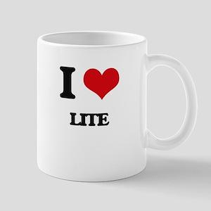 I Love Lite Mugs