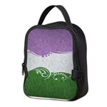 Genderqueer Ornamental Flag Neoprene Lunch Bag
