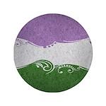Genderqueer Ornamental Flag 3.5
