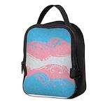 Transgender Ornamental Flag Neoprene Lunch Bag
