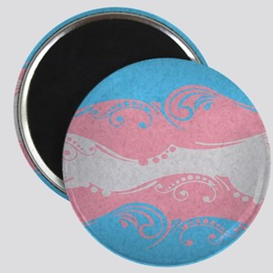 Transgender Ornamental Flag Magnet