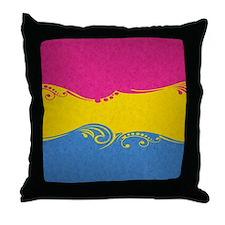 Pansexual Ornamental Flag Throw Pillow