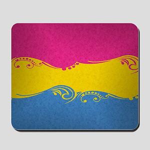 Pansexual Ornamental Flag Mousepad