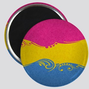 Pansexual Ornamental Flag Magnet