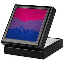 Bisexual Ornamental Flag Keepsake Box