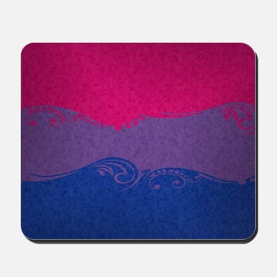 Bisexual Ornamental Flag Mousepad