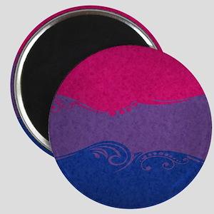 Bisexual Ornamental Flag Magnet