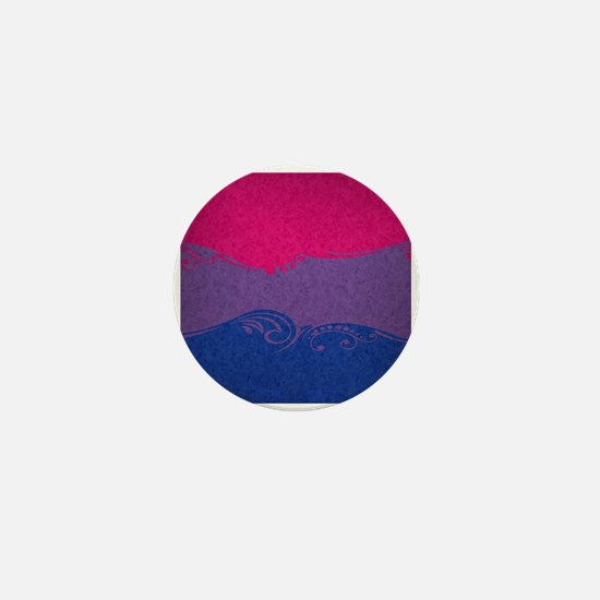 Bisexual Ornamental Flag Mini Button