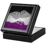 Asexual Ornamental Flag Keepsake Box