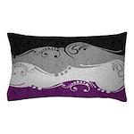 Asexual Ornamental Flag Pillow Case