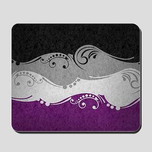 Asexual Ornamental Flag Mousepad