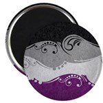 Asexual Ornamental Flag Magnet