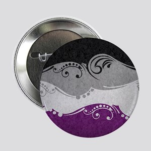 "Asexual Ornamental Flag 2.25"" Button (10 pack)"