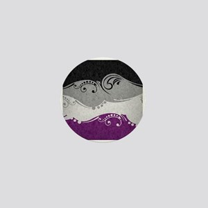Asexual Ornamental Flag Mini Button