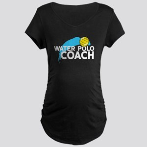 Water Polo Coach Maternity T-Shirt