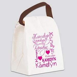 All about a girl Canvas Lunch Bag