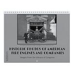 Historic Fire Engines 12 Month Wall Calendar