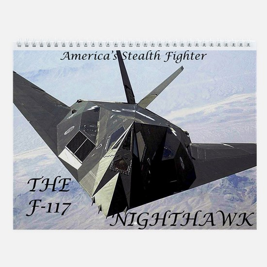 F-117 Nighthawk Wall Calendar