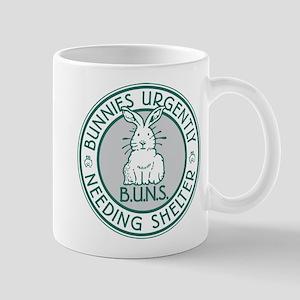 BUNS Logo (Green) Mugs