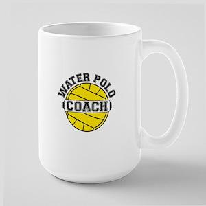 Water Polo Coach Large Mug