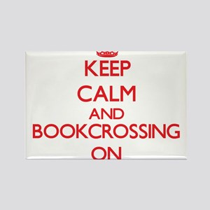 Keep calm and Bookcrossing ON Magnets
