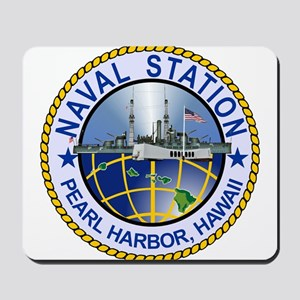 Naval Station Pearl Harbor Mousepad