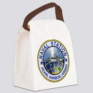 Naval Station Pearl Harbor Canvas Lunch Bag