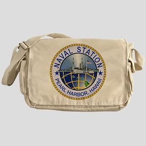 Naval Station Pearl Harbor Messenger Bag