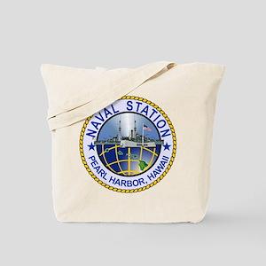Naval Station Pearl Harbor Tote Bag