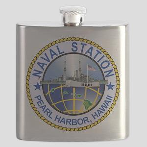 Naval Station Pearl Harbor Flask