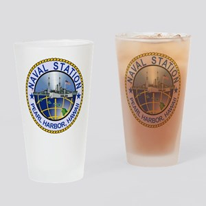 Naval Station Pearl Harbor Drinking Glass