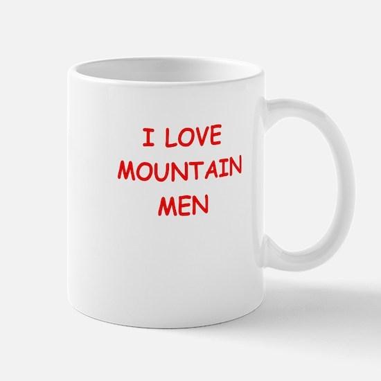 mountain men Mugs