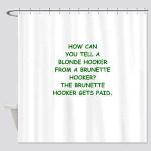 hookers Shower Curtain