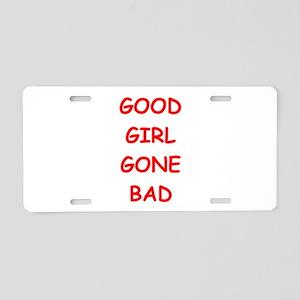 good girl Aluminum License Plate