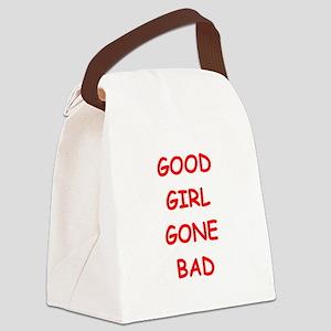 good girl Canvas Lunch Bag