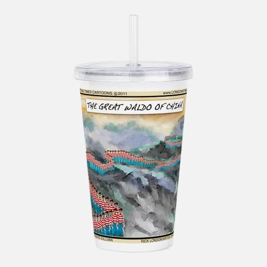 Great Waldo Of China Acrylic Double-Wall Tumbler