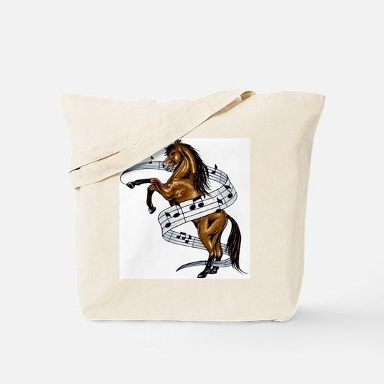 Unique Horses Tote Bag